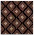 rug #612601 | square brown animal rug