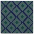 rug #612617 | square blue animal rug