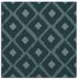 rug #612657 | square blue-green animal rug
