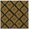 rug #612701 | square black retro rug