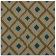 rug #612705 | square mid-brown animal rug