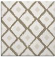 rug #612725 | square mid-brown animal rug