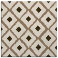 rug #612737 | square mid-brown animal rug