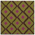 rug #612813 | square purple animal rug