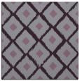rug #612821 | square purple animal rug