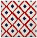rug #612825 | square red animal rug