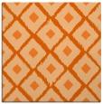 rug #612845 | square red-orange animal rug
