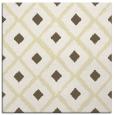 rug #612877 | square yellow animal rug