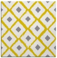 rug #612885 | square yellow retro rug