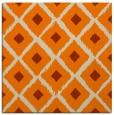 rug #612901 | square orange animal rug