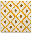 rug #612921 | square light-orange animal rug