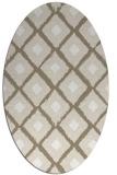rug #612940 | oval retro rug
