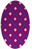 rug #613039   oval animal rug
