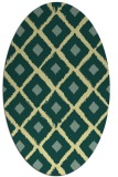 rug #613141 | oval animal rug