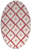 rug #613159 | oval retro rug