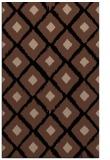 rug #613305 |  brown retro rug