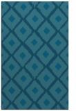 rug #613337 |  blue-green animal rug
