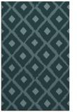 rug #613361    blue-green animal rug