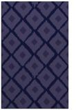 rug #613373 |  blue-violet animal rug
