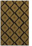rug #613405 |  mid-brown retro rug