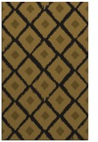 rug #613405 |  black retro rug