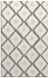 rug #613429 |  white animal rug