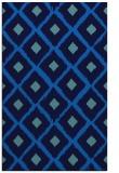 rug #613457 |  blue animal rug