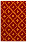 rug #613477 |  orange animal rug