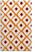 rug #613481 |  orange retro rug