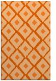 rug #613549 |  red-orange retro rug