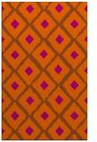 rug #613553 |  red-orange animal rug