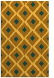 rug #613593 |  light-orange retro rug