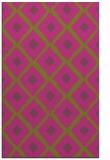 rug #613617 |  light-green retro rug
