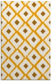 rug #613625 |  light-orange retro rug