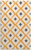 rug #613637 |  light-orange animal rug