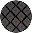 rug #613649   round black retro rug