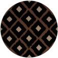 rug #613658 | round retro rug