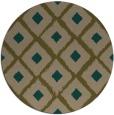 rug #613761   round retro rug