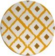 rug #613977   round light-orange retro rug