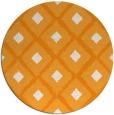 rug #613985 | round light-orange rug