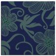 rug #617897 | square blue-green popular rug