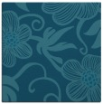 rug #617913   square blue-green natural rug