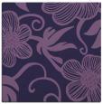 rug #617961   square blue-violet natural rug