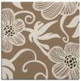 rug #618017 | square mid-brown natural rug
