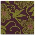 rug #618093   square purple natural rug