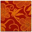 rug #618109   square orange rug
