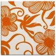 rug #618133 | square red-orange natural rug