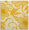rug #618153 | square yellow natural rug