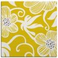 rug #618165   square yellow rug