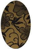 rug #618334 | oval natural rug